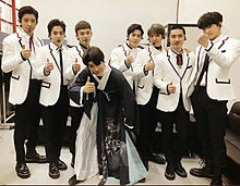 EXO 閉会式 プリ画像