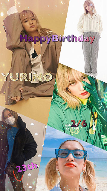 YURINO HappyBirthday 🎉🎉🎉の画像(プリ画像)