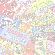 Sweets 🍬🍭💗の画像(アポロ イラスト チョコに関連した画像)