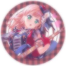 【バンドリ】上原ひまり(アイコン用)の画像(バンドに関連した画像)