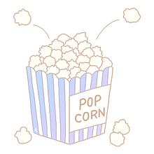 かわいい イラスト ポップコーンの画像28点完全無料画像検索のプリ画像