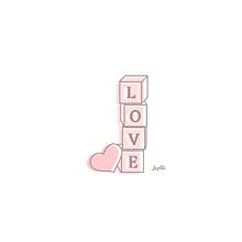 LOVE イラスト¨̮ (( 保存する前に詳細の画像(ポエム素材に関連した画像)