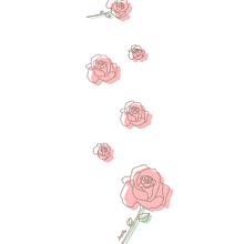バラ イラスト¨̮ (( 保存する前に詳細の画像(大好きに関連した画像)