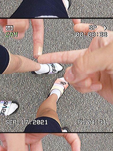 ハート♥足の画像 プリ画像