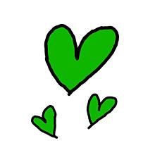 緑の画像(ペア画シンプルに関連した画像)