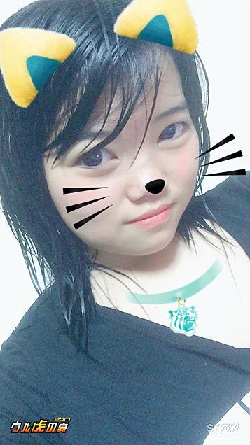 お風呂上がりฅ( •ω• ฅ)ガオ-♡の画像(プリ画像)