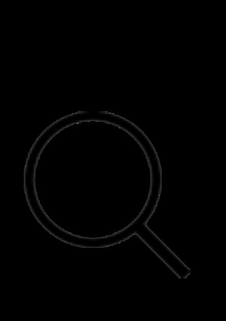 虫眼鏡の画像(プリ画像)