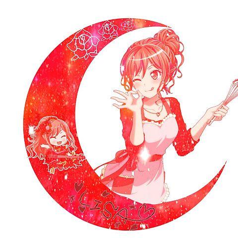 バンドリ月加工 Roselia 今井リサの画像(プリ画像)