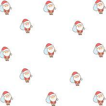 サンタクロースで壁紙作ってみた♡´・ᴗ・`♡の画像(サンタクロースに関連した画像)