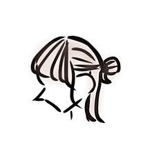 横顔の画像(女の子 イラストに関連した画像)