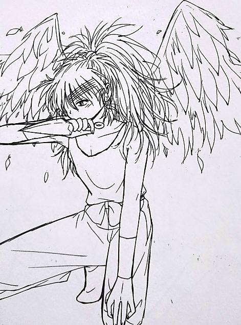 傷だらけの天使❄️の画像(プリ画像)