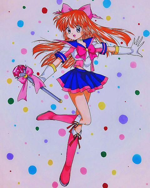 セーラー服の魔法少女の画像(プリ画像)