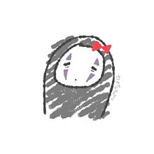カオナシちゃん。 プリ画像