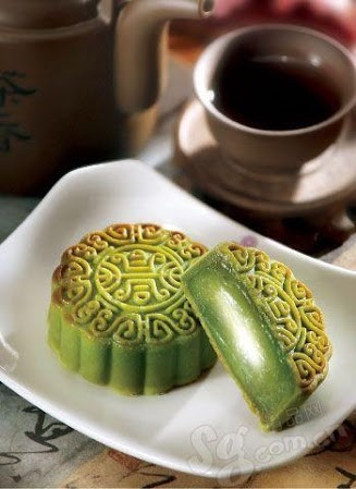 抹茶月餅の画像(プリ画像)