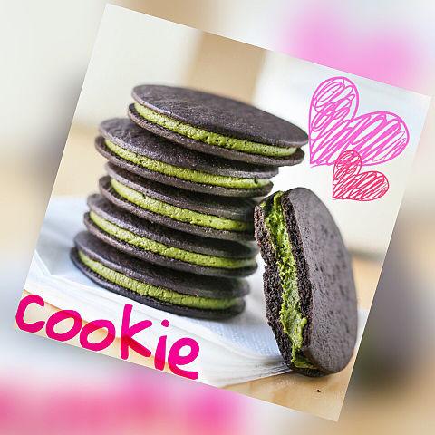 抹茶クッキーの画像(プリ画像)