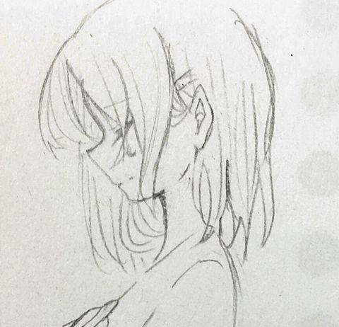 イラスト 女の子 横顔 涙の画像4点完全無料画像検索のプリ画像