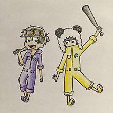 数字松でパンダヒーロー⚾︎の画像(プリ画像)