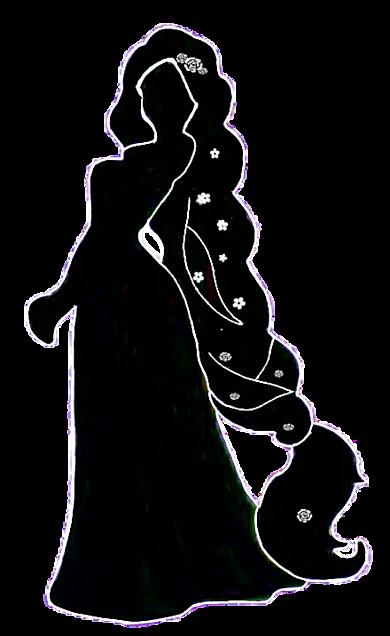 Rapunzel Disney Princess Silhouette - ma