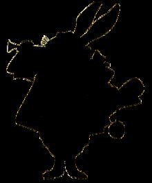 白うさぎ(枠なし)の画像(プリ画像)