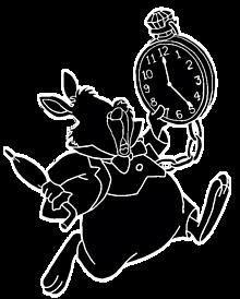 白ウサギ Disney Ver. (枠あり)の画像(プリ画像)