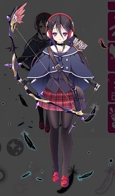キャラ設定 弓イメージの画像(プリ画像)