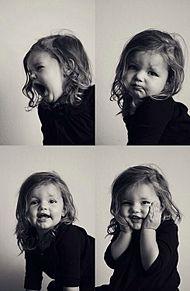 girlの画像(外国人 赤ちゃん モノクロに関連した画像)