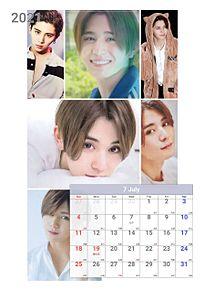 2021カレンダーの画像(7月に関連した画像)