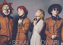 SEKAI NO OWARIの画像(#SEKAI_NO_OWARIに関連した画像)