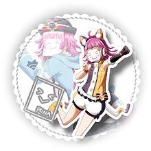 アニマルアイコン 虹ヶ咲学園の画像(#かすみんに関連した画像)