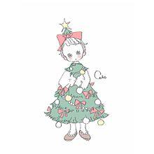クリスマスツリーの画像(クリスマス おしゃれ イラストに関連した画像)