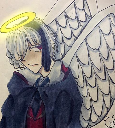 泣き虫天使の画像(プリ画像)