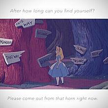 不思議の国のアリス アリス ディズニー プリンセス 恋 ポエムの画像(プリ画像)