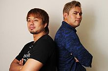新日本プロレス  YOSHI-HASHIとオカダカズチカの画像(オカダ・カズチカに関連した画像)