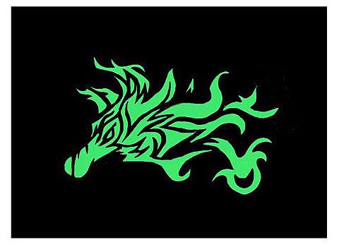 考えるな、燃えろ 神山智洋 モチーフ 狼の画像(プリ画像)
