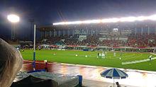 パロマ瑞穂陸上競技場、雨、夜、(日本陸上選手権)の画像(プリ画像)