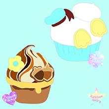 カップケーキ♡の画像(カップケーキに関連した画像)