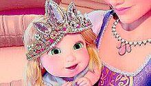 小さい時のラプンツェル プリ画像