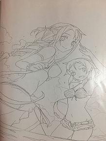 SAO水着アスナリズの画像(SAOに関連した画像)