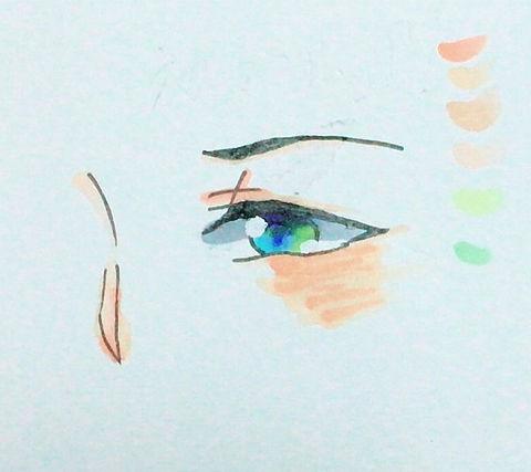 目の画像(プリ画像)