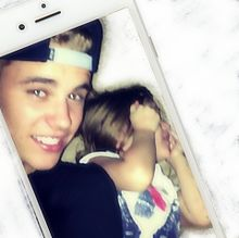 Justin Bieber & Sisterの画像(海外に関連した画像)