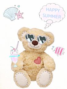 テディベアの夏休みの画像(夏休みに関連した画像)