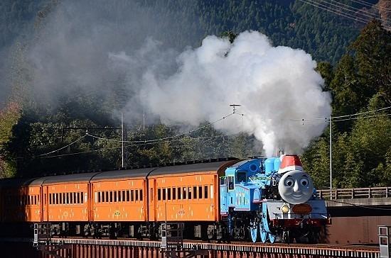 大井川鉄道のトーマスです。