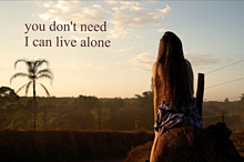 あなたなんて必要ない 私は1人で生きていくの画像(将来に関連した画像)