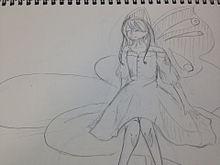 蝶の妖精…? プリ画像