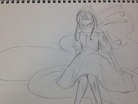 蝶の妖精…?の画像(プリ画像)