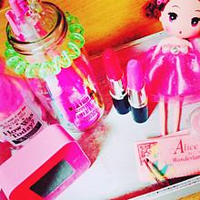ピンクの画像(文房具に関連した画像)