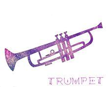 トランペットの画像(金管楽器に関連した画像)