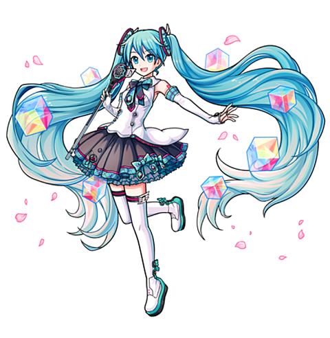 ユニゾンリーグ UR[歌姫]マジカルミライ2017初音ミクの画像 プリ画像