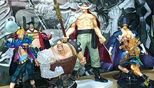 ワンピース白ひげ海賊団フィギュアの画像(ワンピース 白ひげ マルコ ビスタに関連した画像)