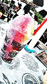 ハイローランドかき氷の画像(プリ画像)